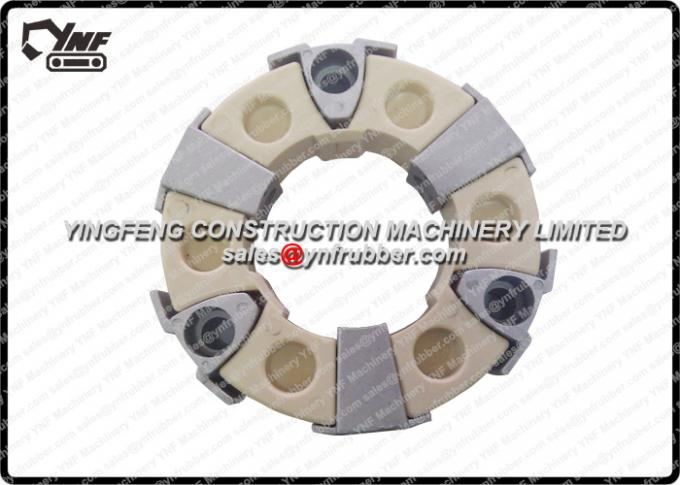 Excavator Rubber Excavator Coupling 30H Shaft Coupling Assembly for Excavator Engine